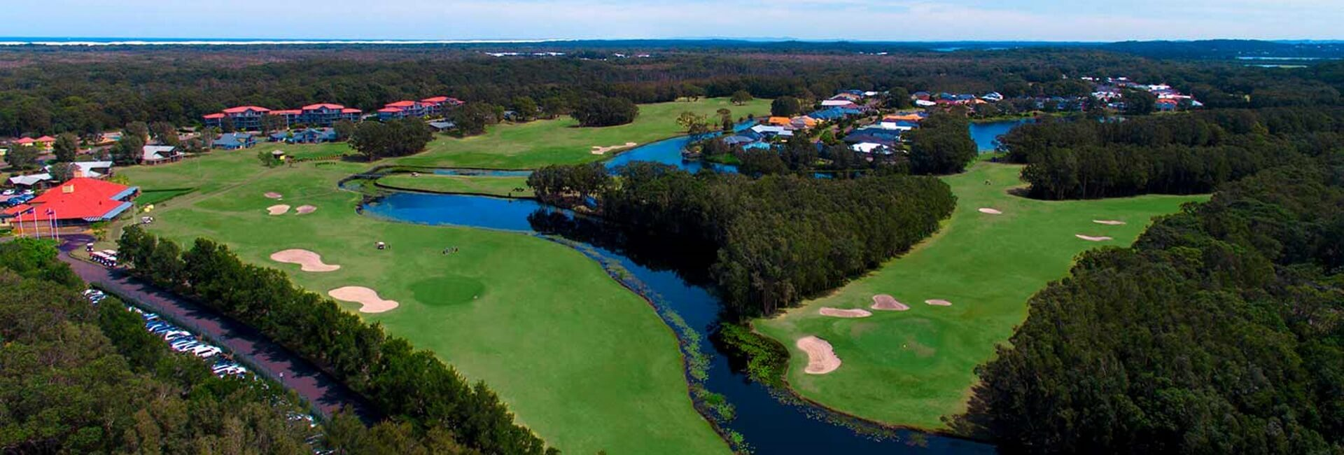 Aerial image of Horizons Golf Resort